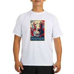 Vote Wiener! Performance Dry T-Shirt