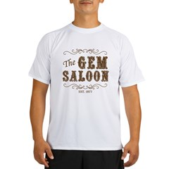 The Gem Saloon Performance Dry T-Shirt