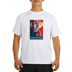 Vote Weimaraner! Performance Dry T-Shirt