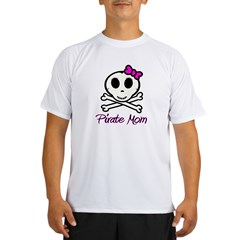 Pirate Mom Performance Dry T-Shirt