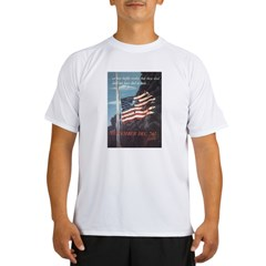 Navy WWII Poster Performance Dry T-Shirt
