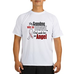 Angel 1 GRANDMA Lung Cancer Performance Dry T-Shirt