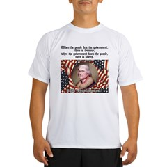 Jefferson-Tyranny vs. Liberty Performance Dry T-Shirt