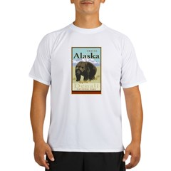 Travel Alaska Performance Dry T-Shirt