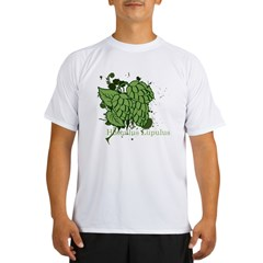 grunge_hops_dark Performance Dry T-Shirt