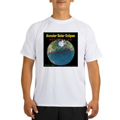 2012 Annular Solar Eclipse Performance Dry T-Shirt