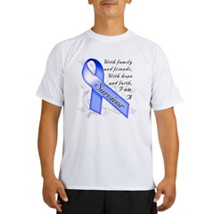 Colon Cancer Survivor Performance Dry T-Shirt