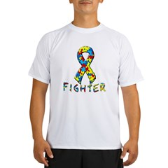 Autism fighter Performance Dry T-Shirt