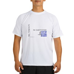 Real Athletes Run - Male Performance Dry T-Shirt