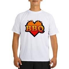 BBQ Love Performance Dry T-Shirt