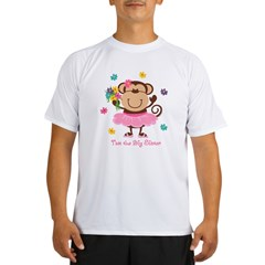 Monkey Big Sister Performance Dry T-Shirt