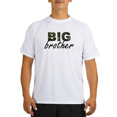 Big brother camo Performance Dry T-Shirt