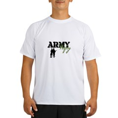 Designs of an Army Wifey Performance Dry T-Shirt