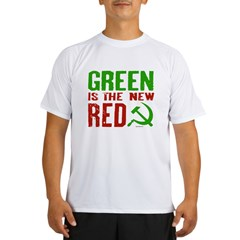 Green is the New Red Performance Dry T-Shirt