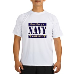 Corpsman Dad Performance Dry T-Shirt