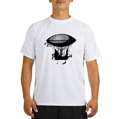 Steampunk pirate airship Performance Dry T-Shirt