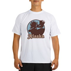 Alaska Moose Performance Dry T-Shirt
