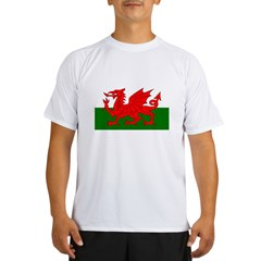 Flag of Wales (Welsh Flag) Performance Dry T-Shirt