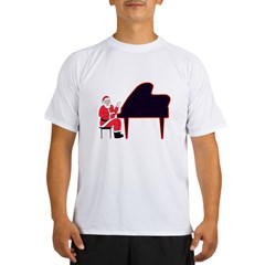 Santa at the Keys Performance Dry T-Shirt