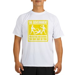 Protecting and Serving Performance Dry T-Shirt
