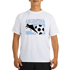Argentina world cup soccer Performance Dry T-Shirt