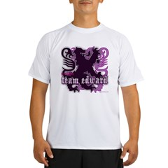 Team Edward Royal Purple Cres Performance Dry T-Shirt