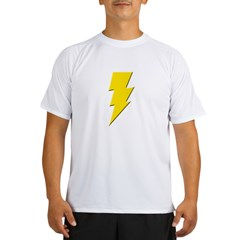 Yellow Lightning Performance Dry T-Shirt