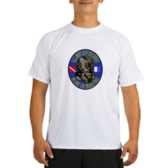 NAVY DIVER Performance Dry T-Shirt
