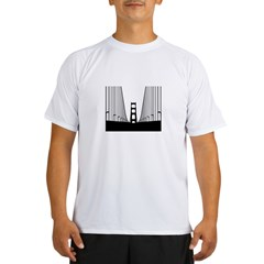 bay.bridge.black Performance Dry T-Shirt