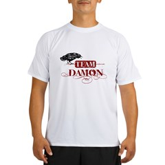Vampire Diaries Team Damon red Performance Dry T-Shirt