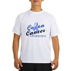 Colon Cancer Awareness Performance Dry T-Shirt