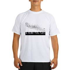 bats-nostroke Performance Dry T-Shirt