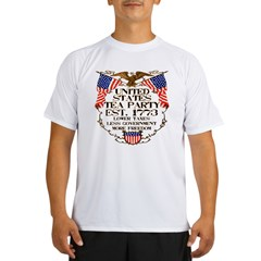 United States Tea Party Performance Dry T-Shirt