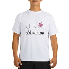 Cute Librarian Performance Dry T-Shirt