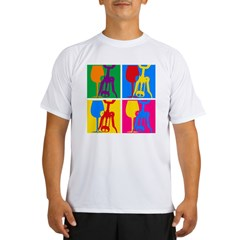 Pop Art Wine Performance Dry T-Shirt