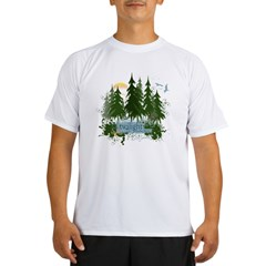 Twilight Forks WA Performance Dry T-Shirt