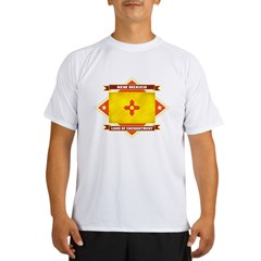 2-New Mexico diamond Performance Dry T-Shirt