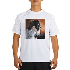 Borzoi by Dawn Secord Performance Dry T-Shirt