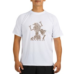 2-robotV2 Performance Dry T-Shirt