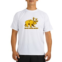bear + deer = beer ?? Performance Dry T-Shirt