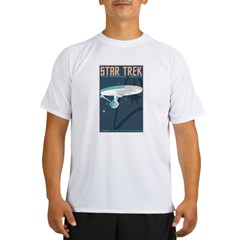 Retro Star Trek: TOS Poster Performance Dry T-Shirt