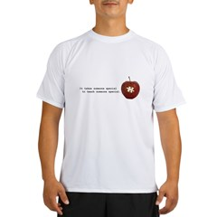 Autism Teacher Performance Dry T-Shirt