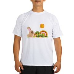"""Woodland Bunny"" Performance Dry T-Shirt"