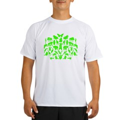 Green Monsters - Sheldon's Performance Dry T-Shirt