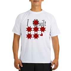 Star Quilt Pattern Performance Dry T-Shirt