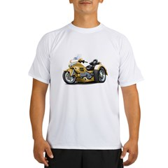 Goldwing Gold Trike Performance Dry T-Shirt