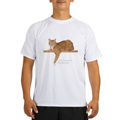 Orange Cat Ginger Kitty Performance Dry T-Shirt
