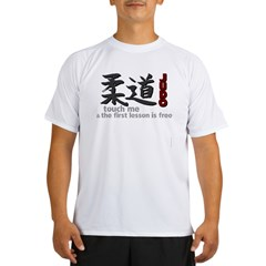 Funny Judo Performance Dry T-Shirt