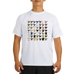 49 Hen Breeds Performance Dry T-Shirt