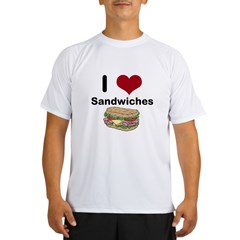 i love sandwiches Performance Dry T-Shirt